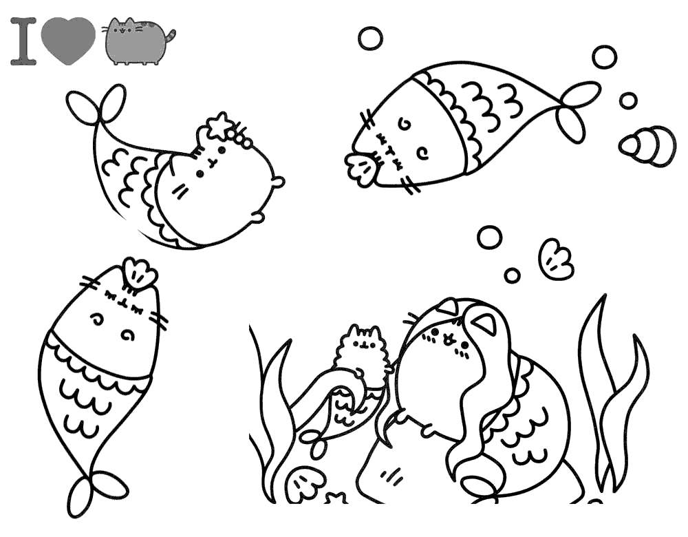 pusheen the cat coloring pages pushee kleurplaat pushee kleurplaat pusheen cat black pages pusheen coloring cat the