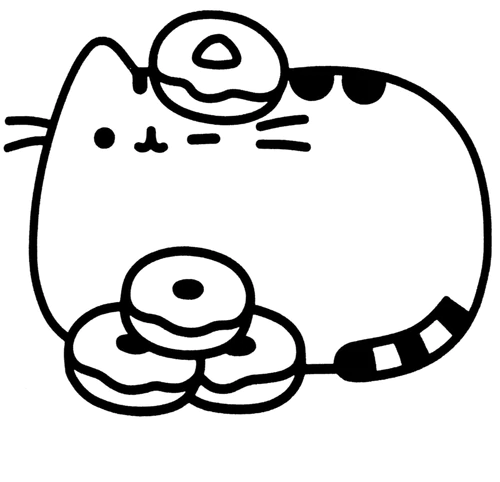 pusheen the cat coloring pages pusheen coloring pages idea whitesbelfast coloring pusheen pages the cat