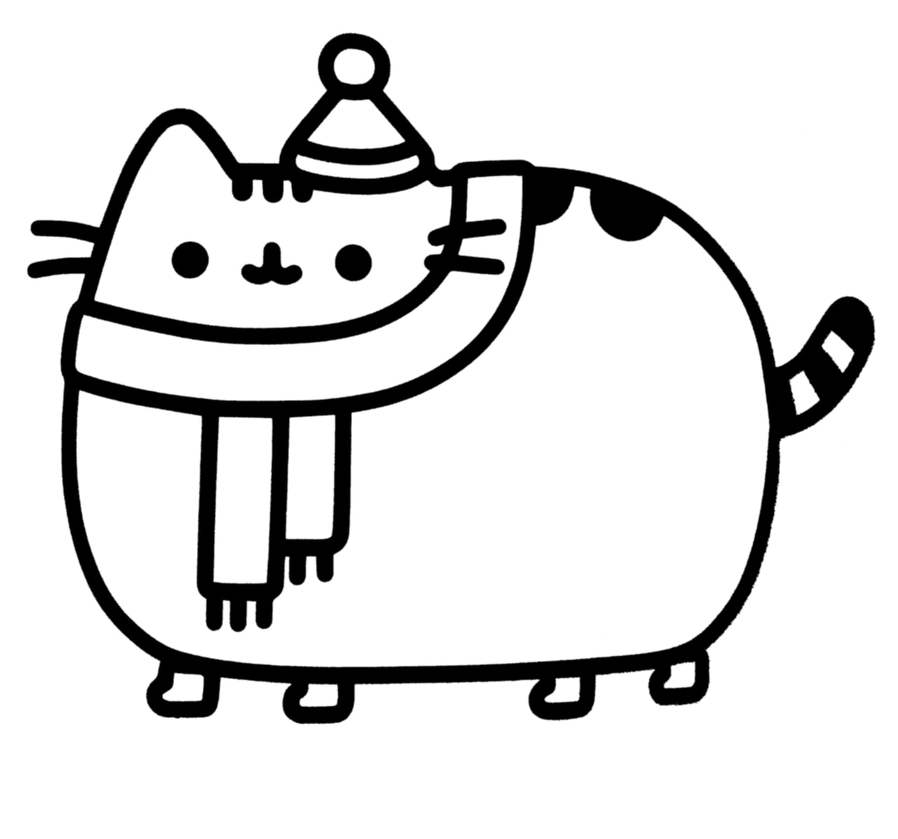 pusheen the cat coloring pages pusheen the cat coloring pages cat pusheen pages the coloring