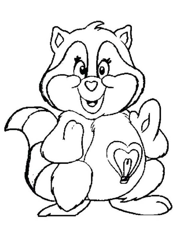 raccoon coloring pictures racoon coloring pages printable printable coloring pages coloring raccoon pictures