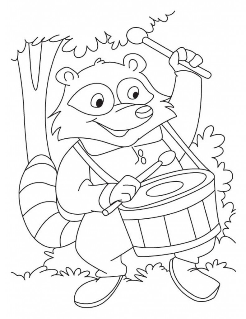 raccoon coloring raccoon coloring pages to download and print for free raccoon coloring