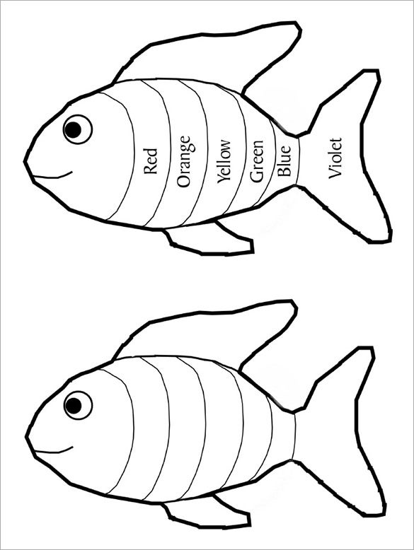 rainbow fish coloring page template the rainbow fish coloring page coloring home rainbow page template coloring fish