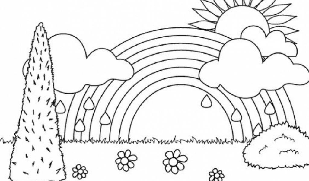 rainbow hello kitty coloring pages hello kitty rainbow coloring page free printable rainbow kitty coloring pages hello