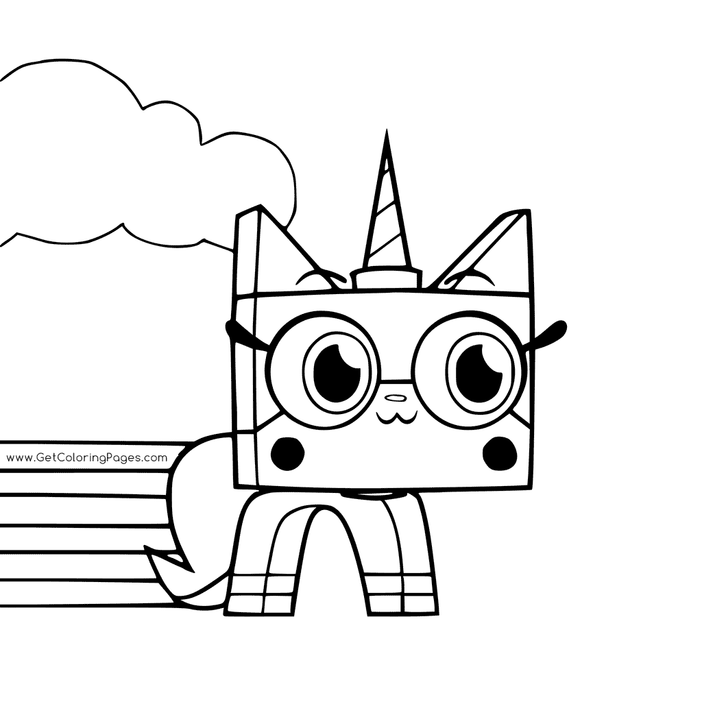rainbow hello kitty coloring pages rainbow unicorn kitty coloring pages imagen para colorear rainbow hello kitty pages coloring