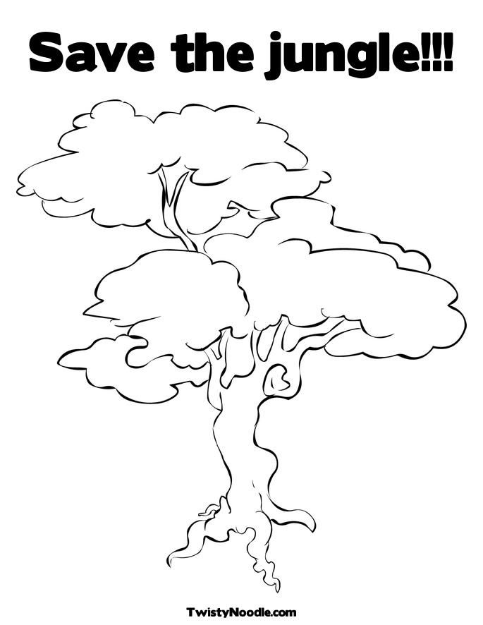 rainforest tree coloring page coloring picture of rainforest tree coloring pages page coloring rainforest tree