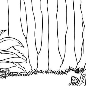 rainforest tree coloring page rain forest trees coloring page coloring home coloring tree page rainforest