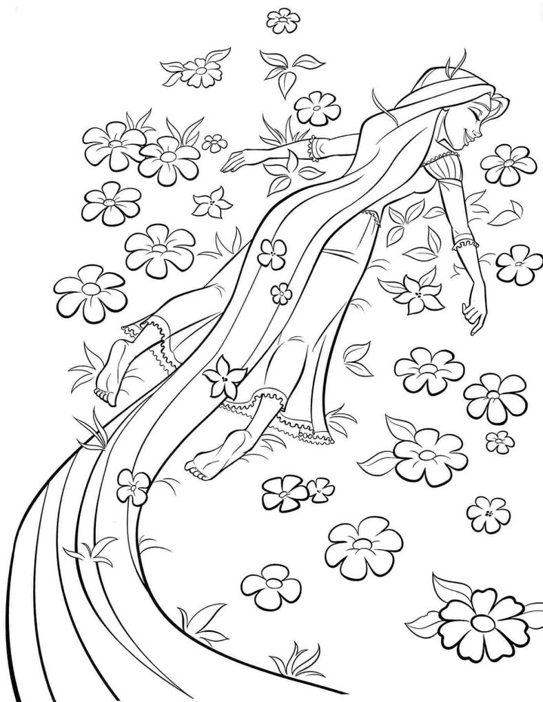 rapunzel print out pretty and fabulous rapunzel coloring pages 101 coloring out print rapunzel
