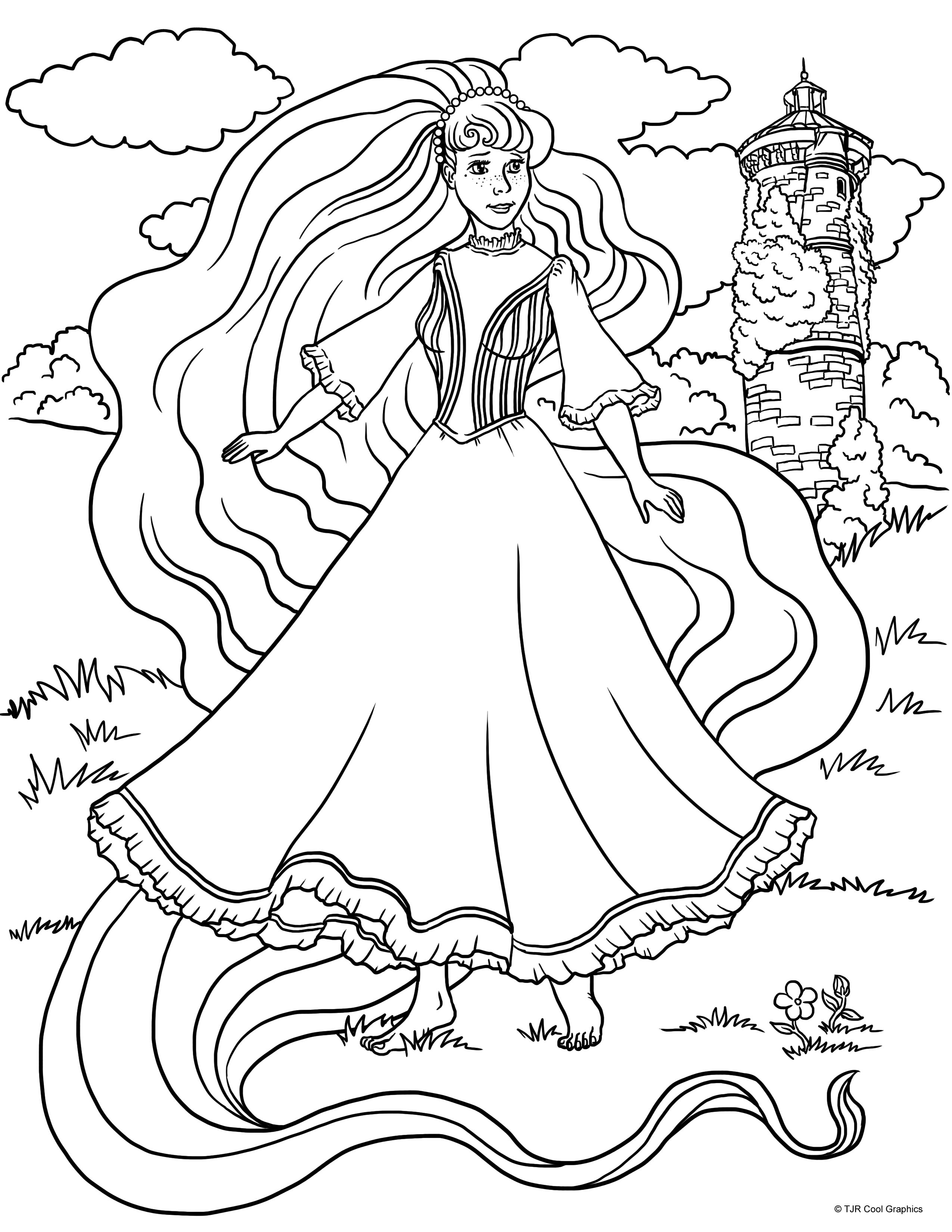 rapunzel print out printable coloring pages rapunzel princess coloring out print rapunzel