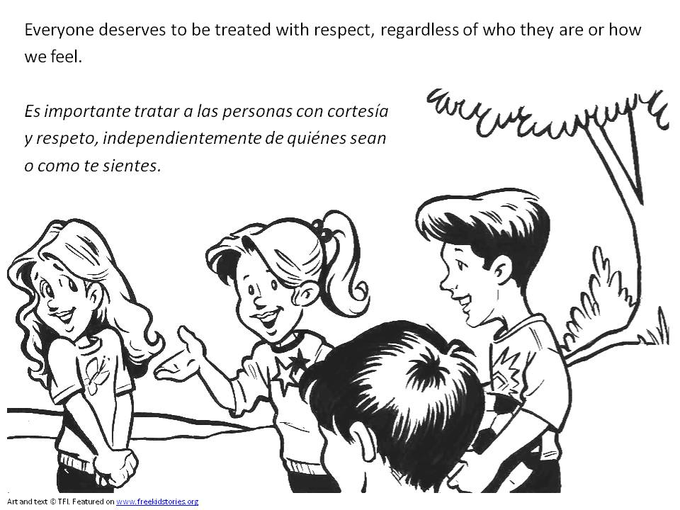 respect coloring pages respect other people39s stuff dee coloring page with coloring respect pages