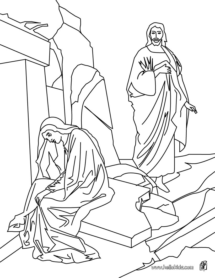 resurrection of jesus coloring pages 17 best images about bible nt jesus has risenreturned to resurrection of jesus pages coloring