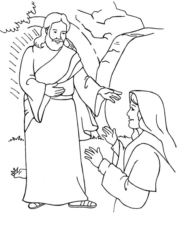 resurrection of jesus coloring pages resurrection of jesus christ coloring pages hellokidscom jesus resurrection coloring of pages