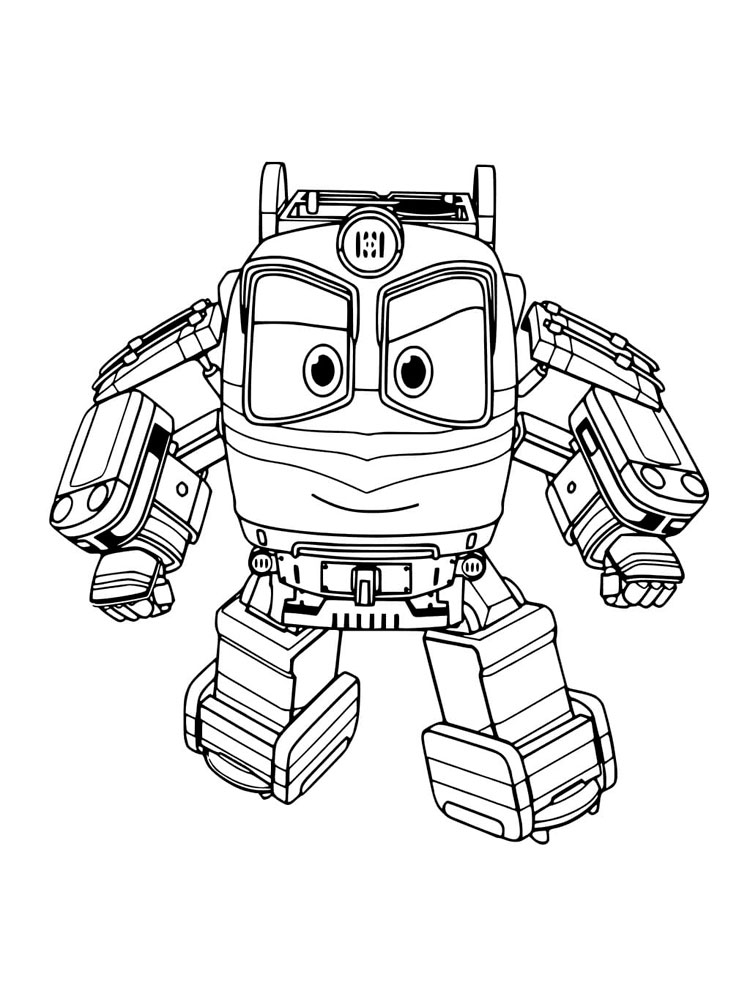 robot train coloring pages free robot trains coloring pages download and print robot coloring robot train pages