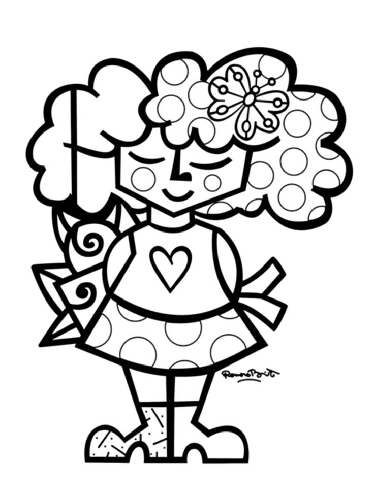romero britto coloring pages 15 downloadable romero britto coloring books pages carnival pages romero britto coloring