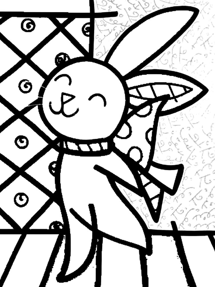 romero britto coloring pages color like an artist britto google zoeken bear coloring pages britto romero