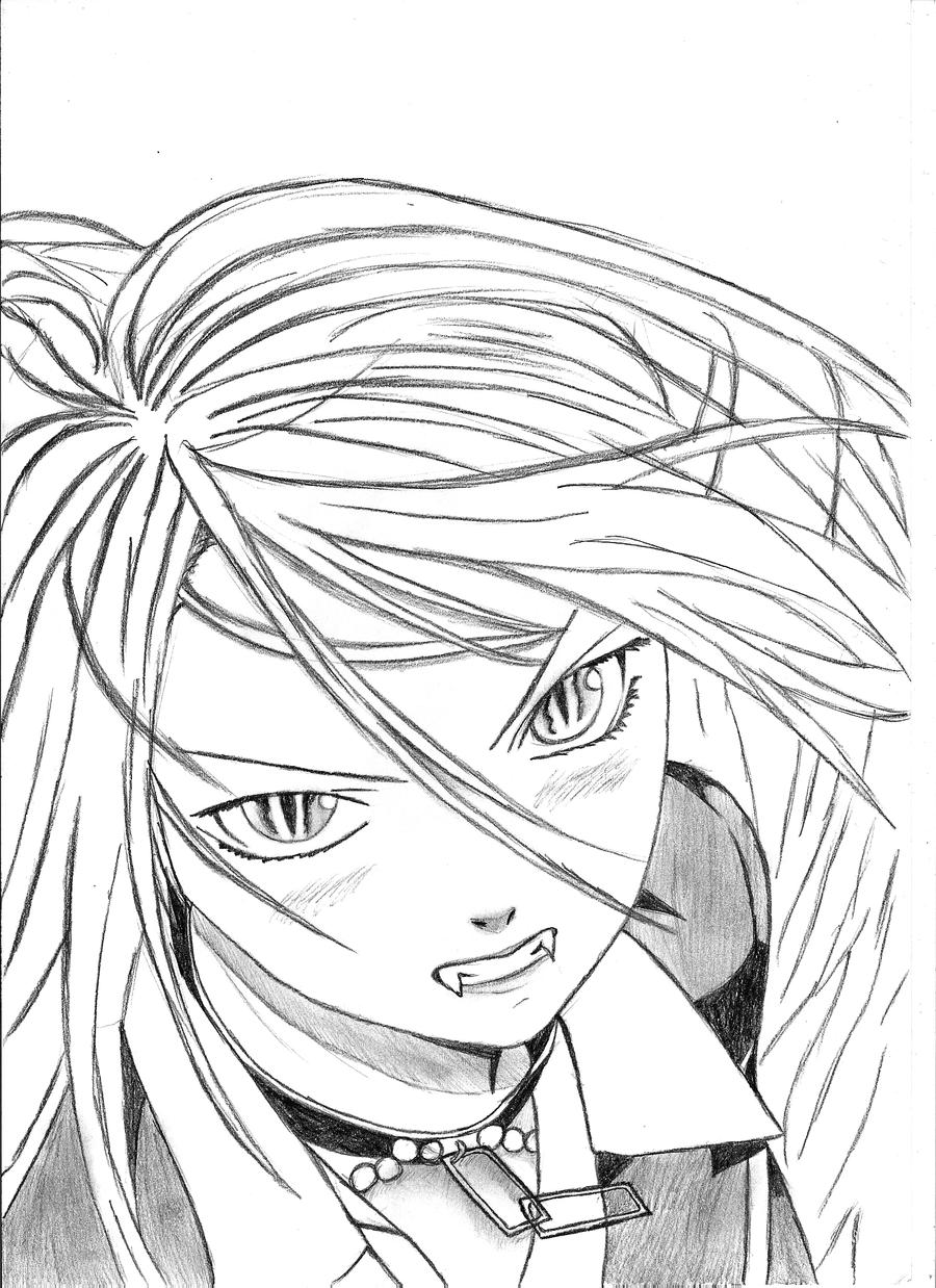 rosario vampire coloring pages pin on coloring pages for adults pages vampire rosario coloring