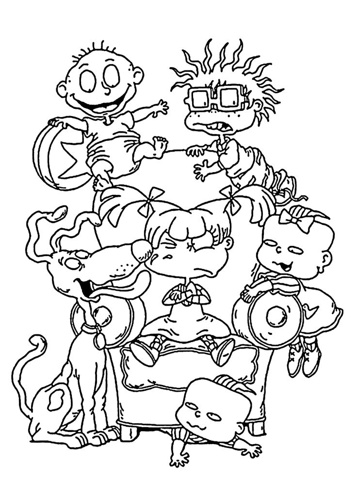 rugrats coloring pages 27 best rugrats coloring pages images on pinterest coloring rugrats pages
