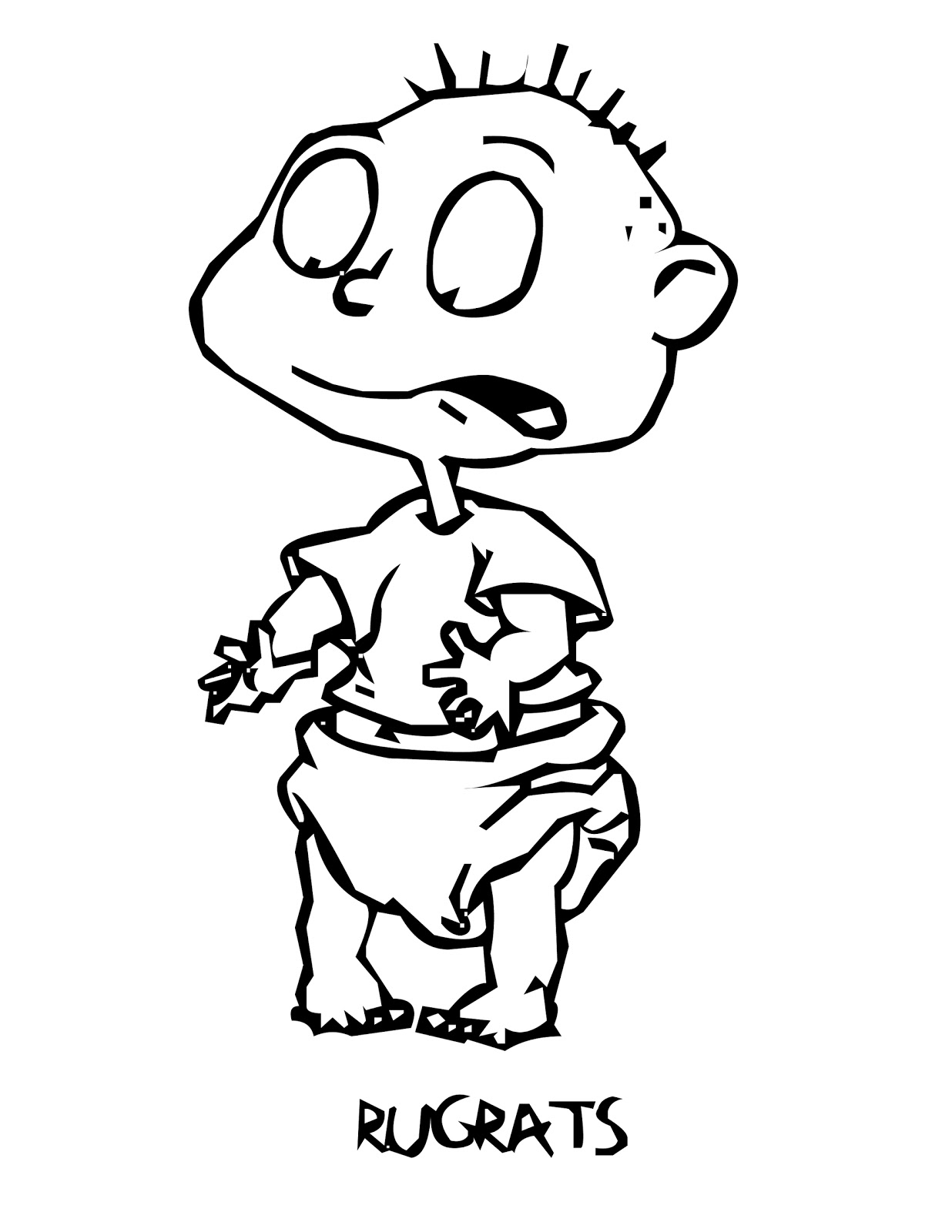 rugrats coloring pages printable rugrats coloring pages for kids cool2bkids pages coloring rugrats
