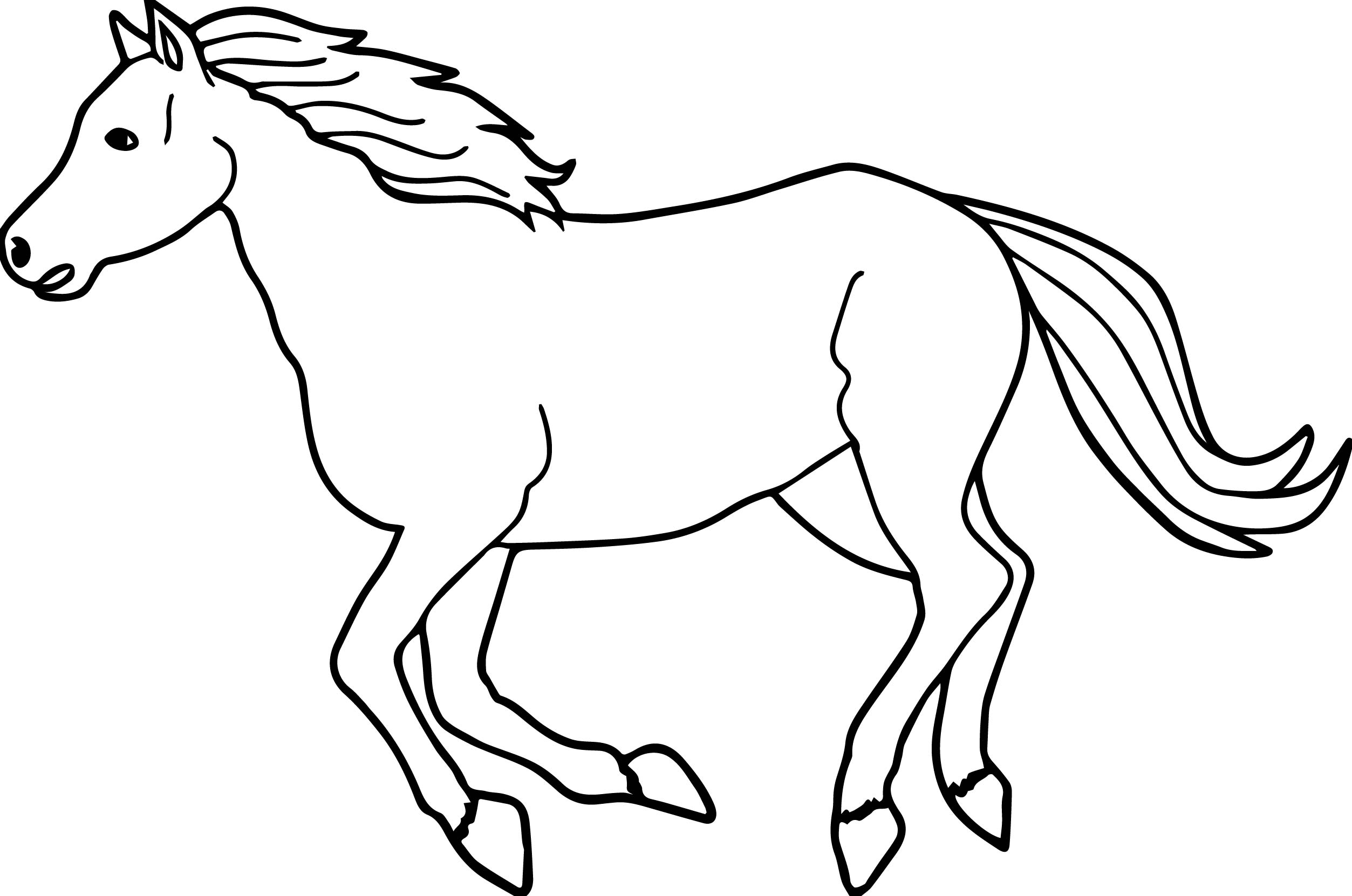 running horse coloring pages arabian horse drawing free download on clipartmag running coloring pages horse
