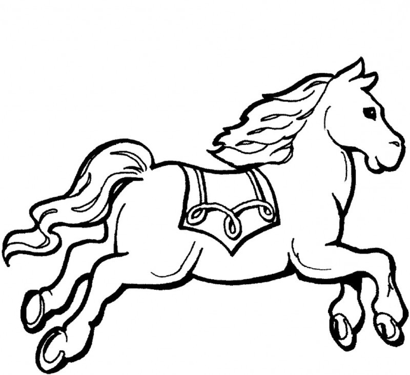 running horse coloring pages cartoon horse running clipartsco horse pages running coloring
