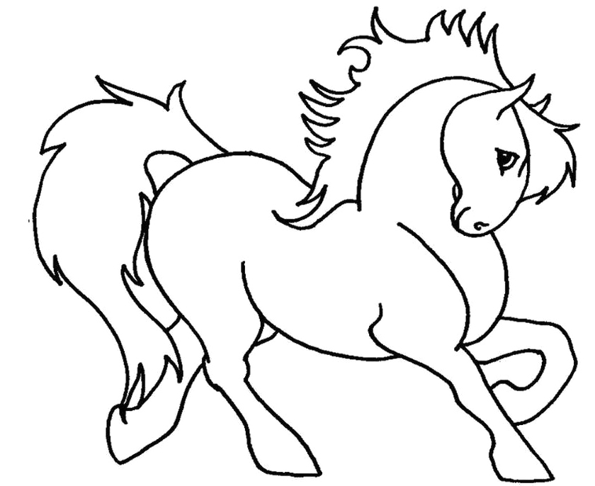 running horse coloring pages cartoon horse running clipartsco pages horse running coloring