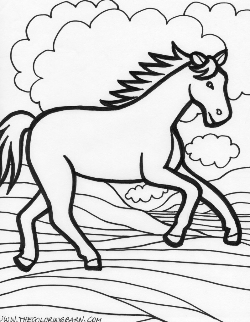 running horse coloring pages running horse coloring page animal place running pages coloring horse