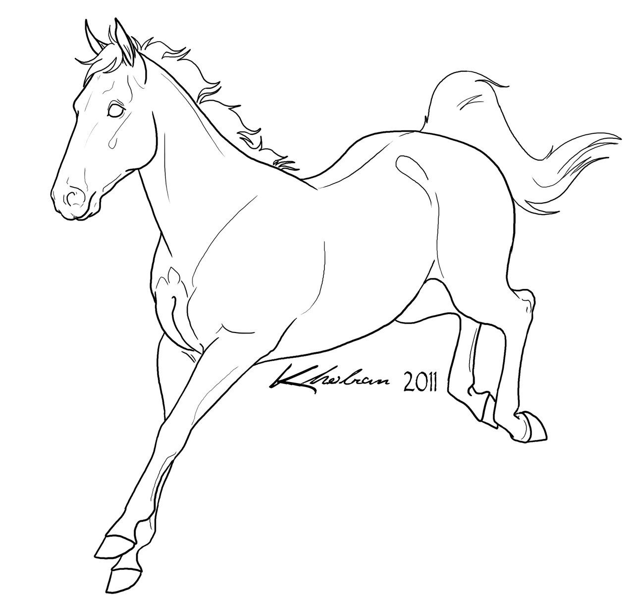 running horse coloring pages sport horse lineart horse drawings horse coloring pages horse coloring running pages