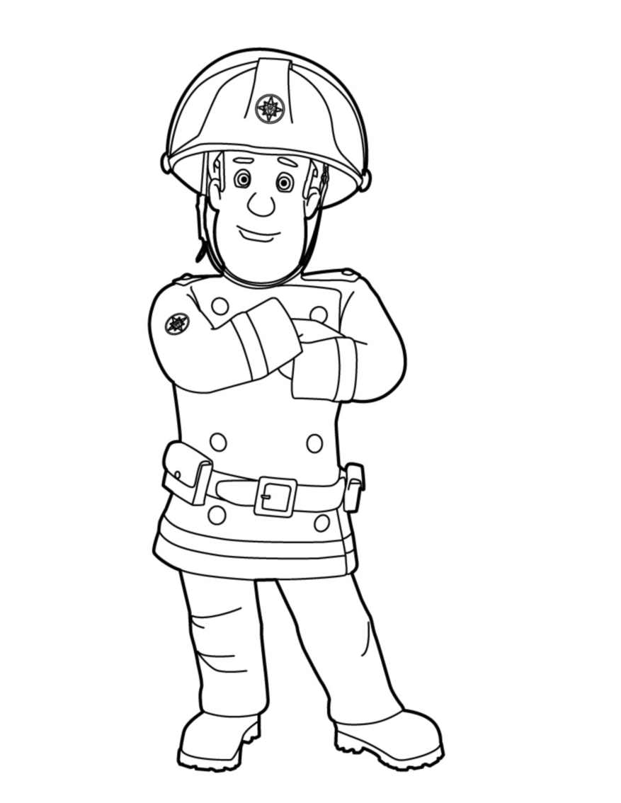 sam the fireman coloring pages 17 best images about kleurplaten on pinterest cars pages fireman the coloring sam