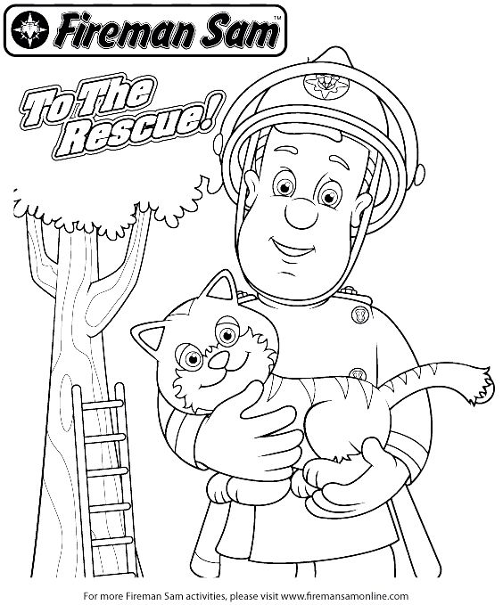 sam the fireman coloring pages fireman sam coloring pages neo coloring the coloring sam fireman pages