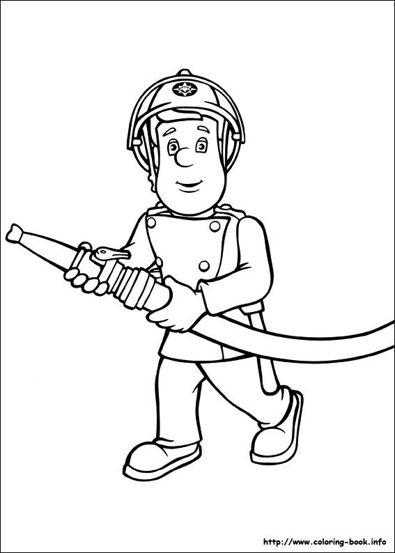 sam the fireman coloring pages fireman sam coloring pages to download and print for free coloring sam fireman the pages