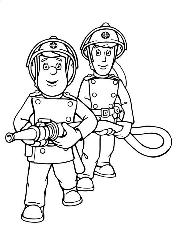 sam the fireman coloring pages fireman sam coloring pages to download and print for free sam pages coloring the fireman