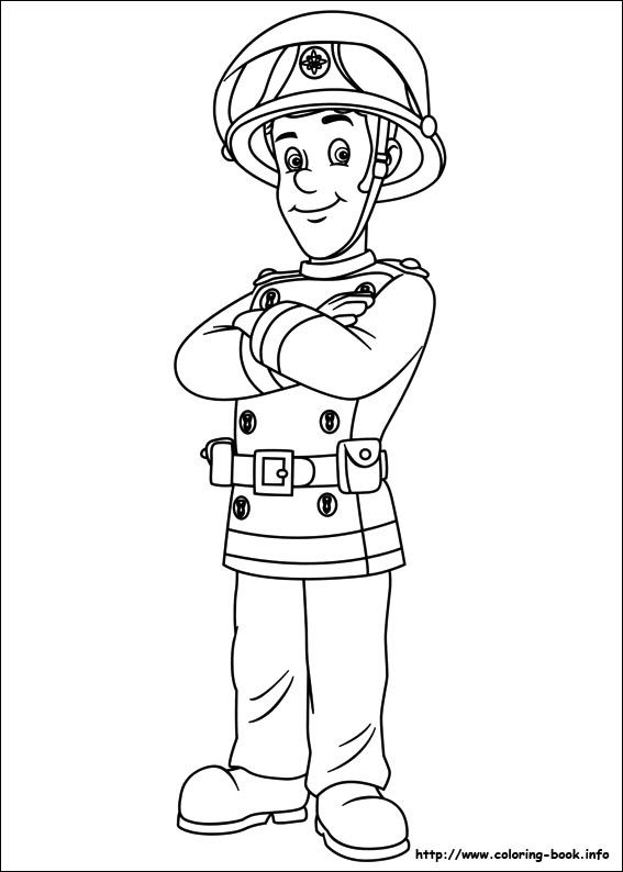sam the fireman coloring pages fireman sam coloring picture coloring pages fireman fireman coloring the pages sam