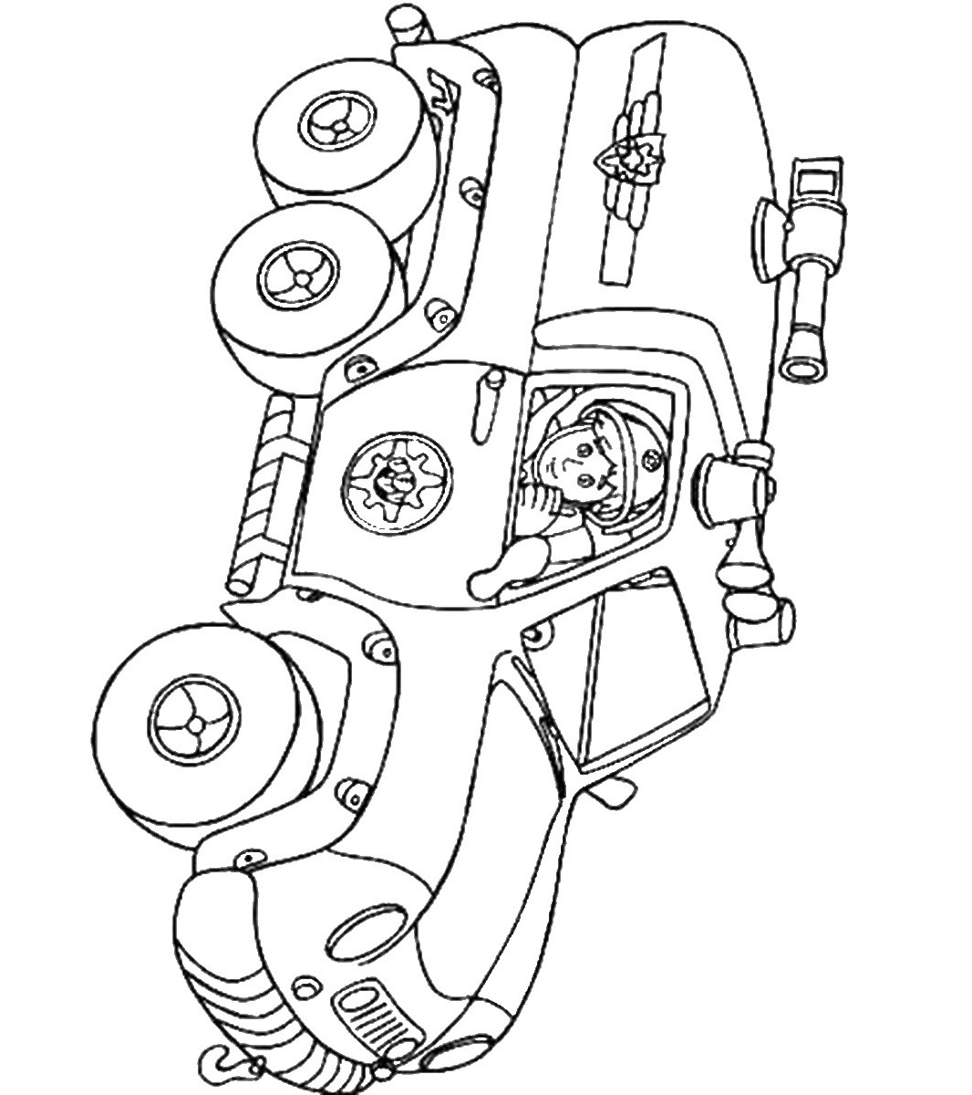 sam the fireman coloring pages fireman sam posing for local newspaper coloring page fireman pages sam the coloring