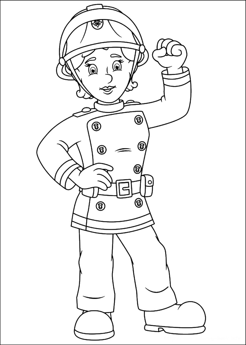 sam the fireman coloring pages free printable fireman coloring pages cool2bkids fireman coloring pages the sam