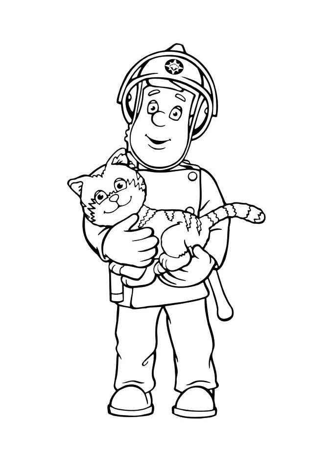sam the fireman coloring pages picture of fireman sam coloring page coloring sky fireman coloring sam the pages