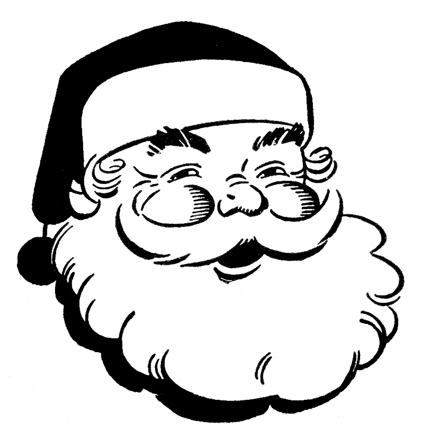 santa claus pictures to print santa claus coloring pages to download and print for free santa claus to pictures print