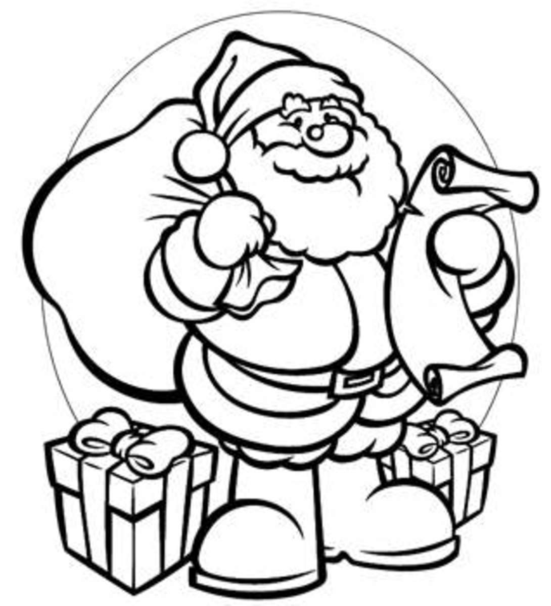 santa claus pictures to print xmas coloring pages to print pictures santa claus