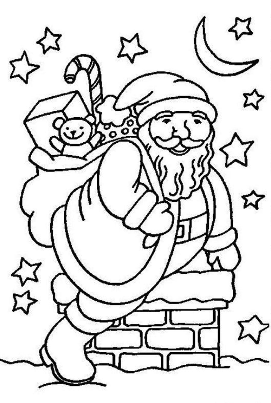 santa claus printable coloring pages craftsactvities and worksheets for preschooltoddler and pages printable santa claus coloring