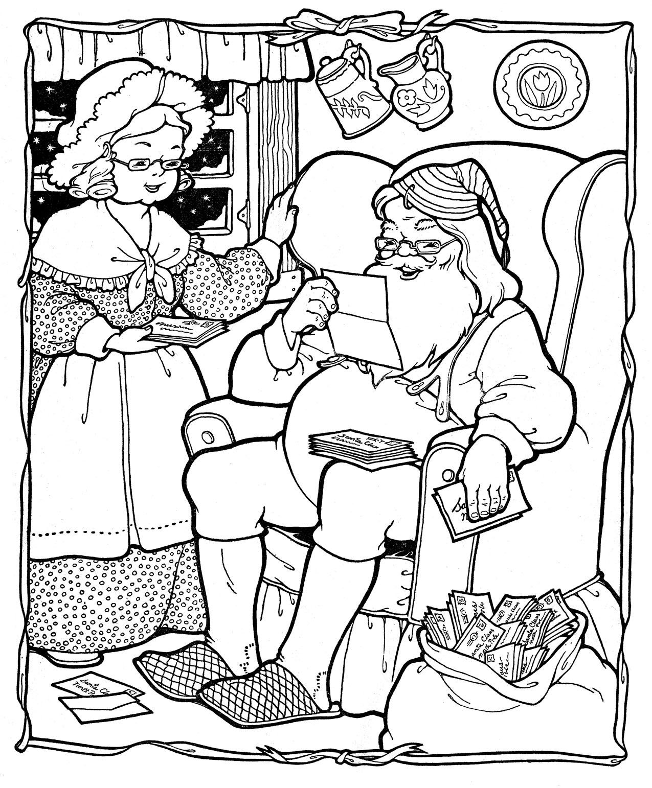 santa coloring page santa coloring pages 2018 page santa coloring