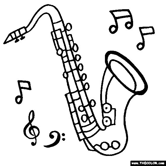 saxophone coloring pages 84 best images about saxophone cake on pinterest jazz saxophone coloring pages
