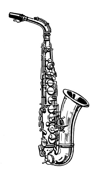 saxophone coloring pages saxophone coloring page twisty noodle coloring saxophone pages