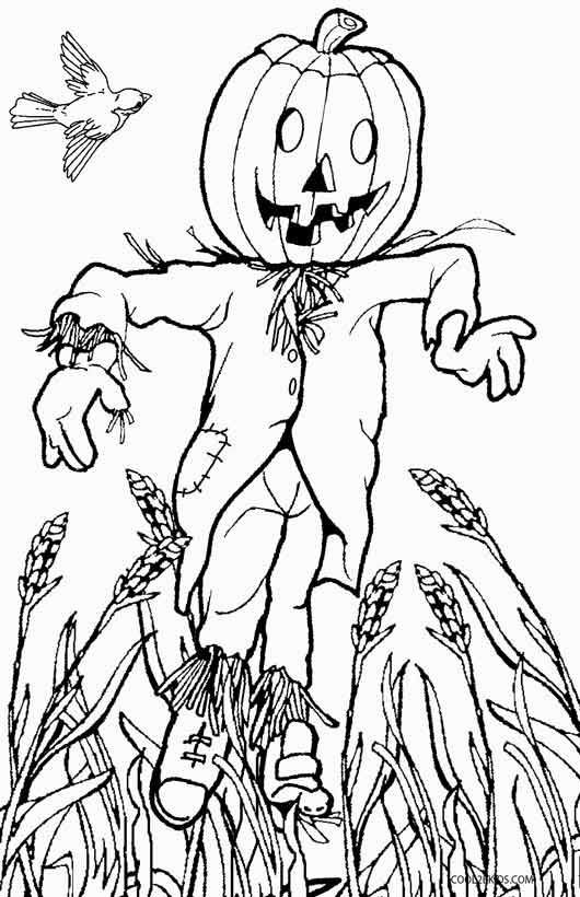 scarecrow coloring pages free printable fall coloring pages for kids coloring pages scarecrow