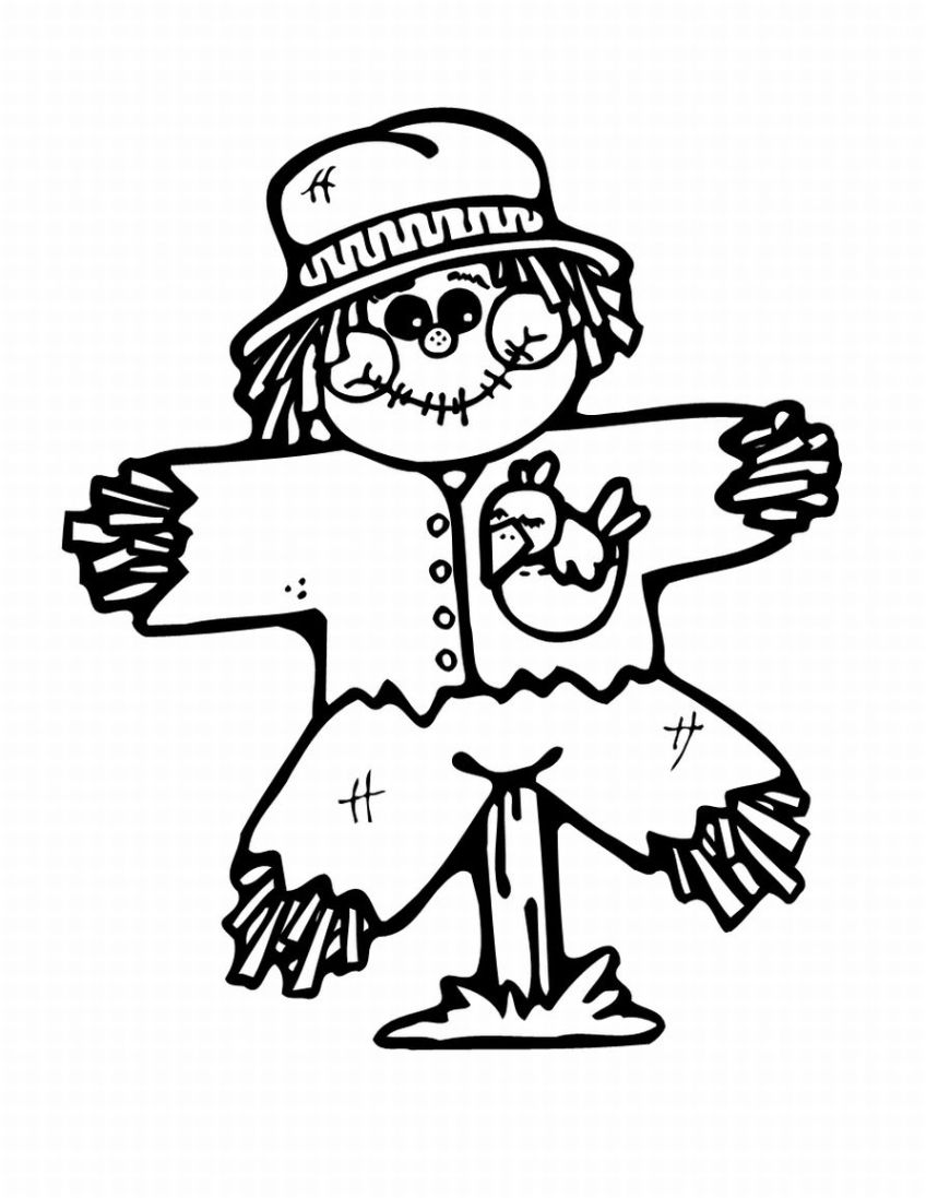scarecrow coloring pages thanksgiving coloring pages thanksgiving scarecrow scarecrow pages coloring