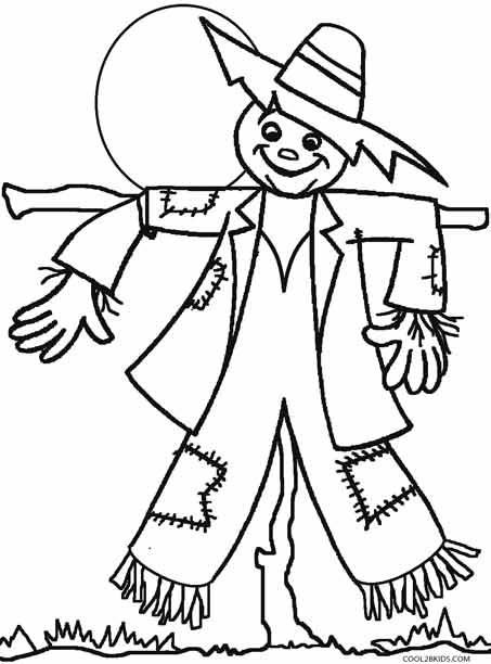 scarecrow coloring pages thanksgiving hours stop and shop coloring pages scarecrow