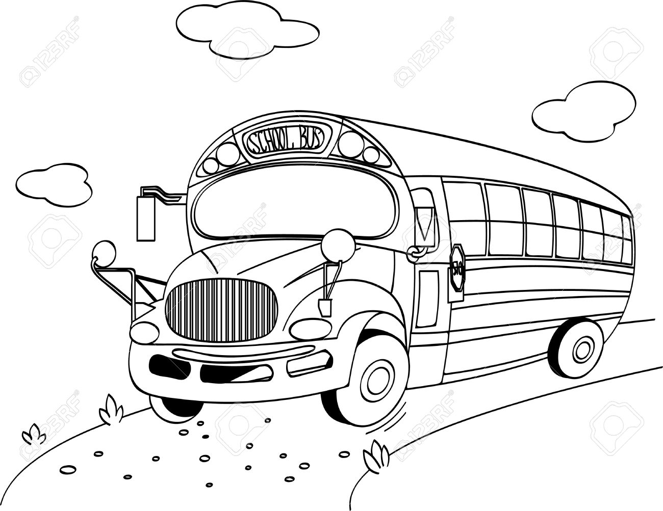 school bus drawing patent us20120268599 video monitoring system for a school drawing bus