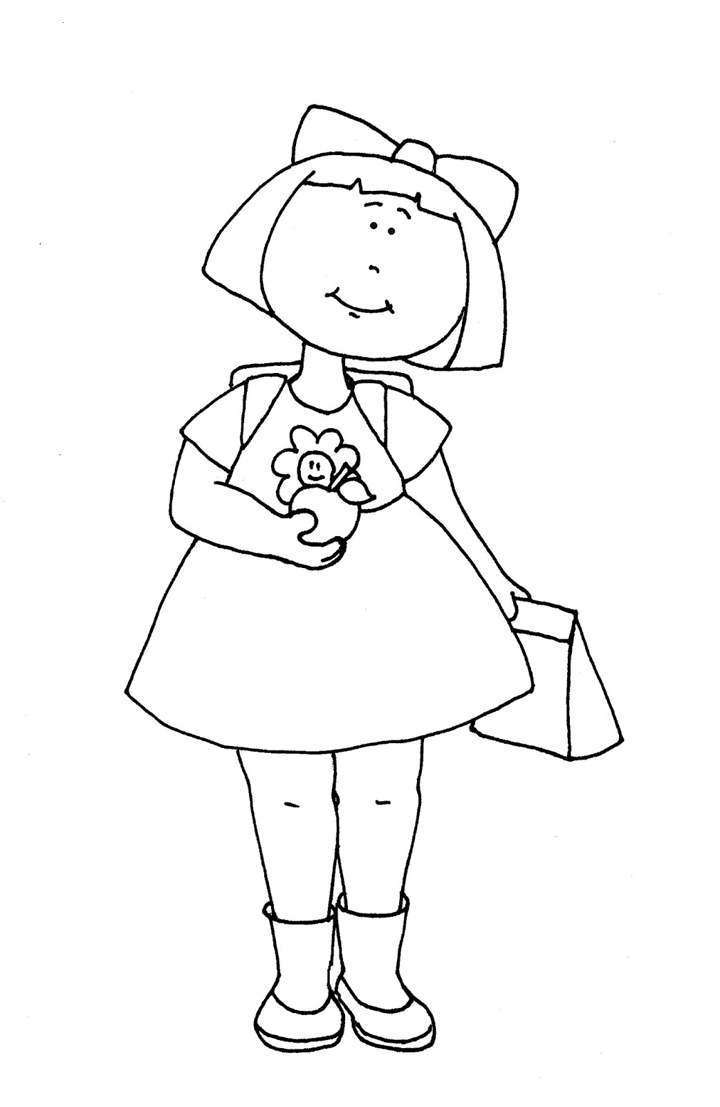 school girl coloring pages cool at the school girl hand up coloring page coloring coloring girl school pages