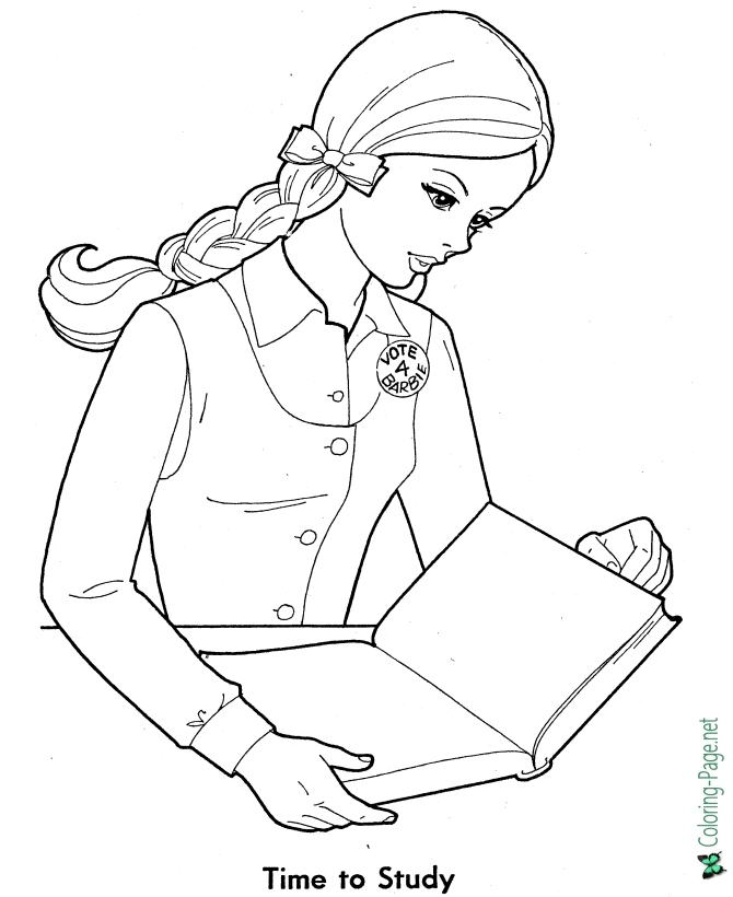school girl coloring pages girly coloring pages school girl and sports girl free coloring girl pages school