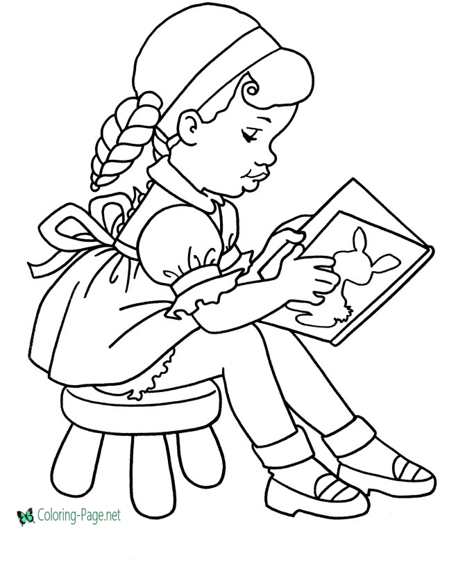 school girl coloring pages school coloring pages girls read coloring school pages girl