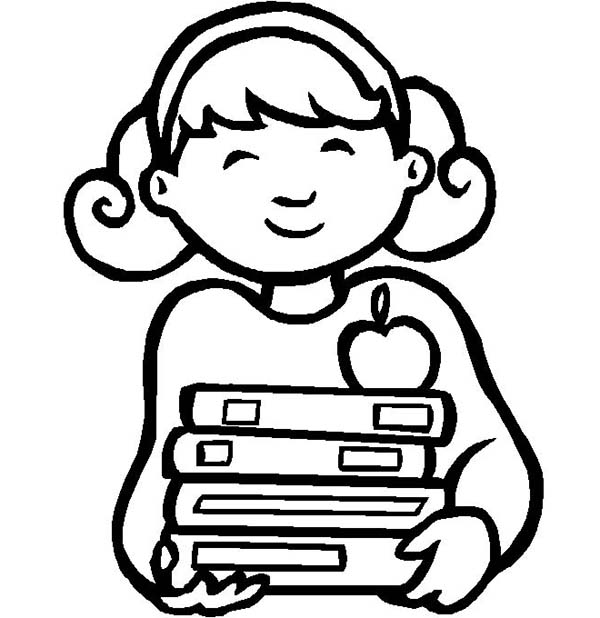 school girl coloring pages stack free coloring pages pages coloring school girl