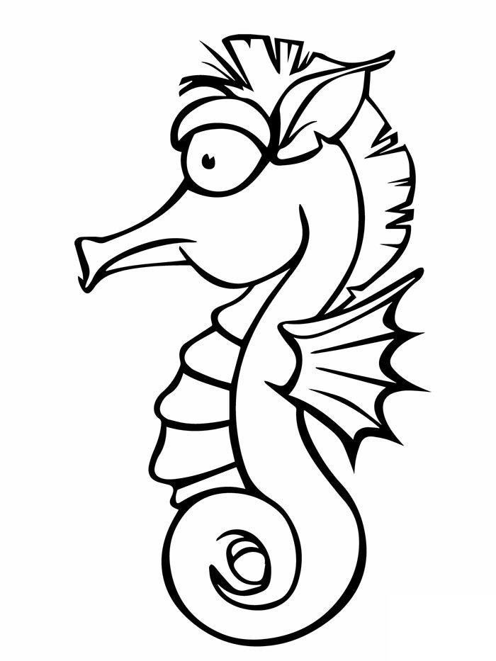 sea horse coloring pages 40 seahorse shape templates crafts colouring pages coloring horse pages sea