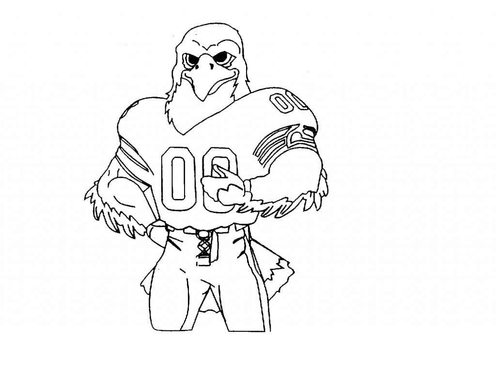 seahawks coloring pages seattle seahawks logo drawing at getdrawings free download seahawks pages coloring